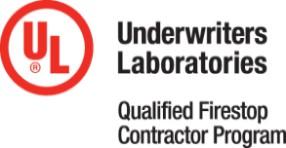 UL Qualified Firestop Contractor